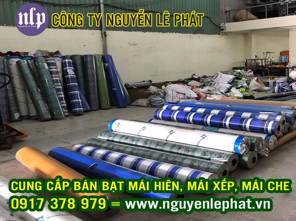 Bạt Mái Hiên, Mái Xếp Lượn Sóng, Bạt Kéo Di Động Giá Rẻ tại Thái Bình