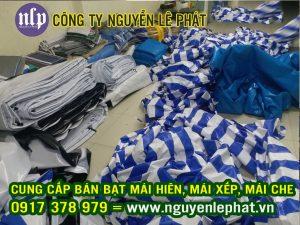 Xưởng May Ép Vải Bạt Mái Che Theo Yêu Cầu Giá Rẻ - Cung Cấp Bạt Che Nắng Mưa Tự Cuốn