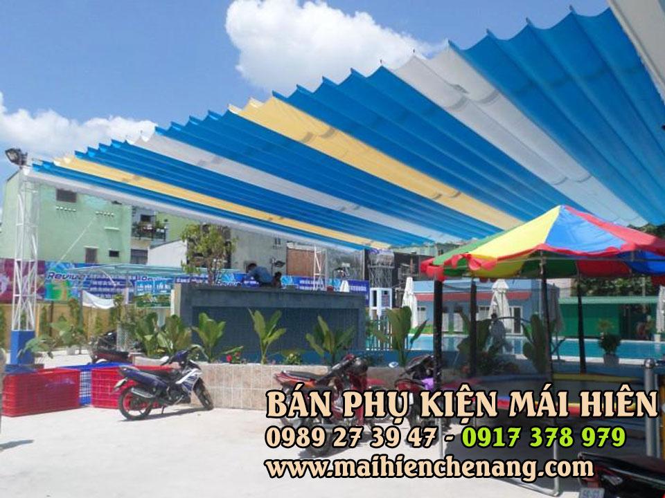 Lắp Đặt Mái Che tại Quận 2 TPHCM, Bạt Kéo Di Động tại thủ đức TPHCM