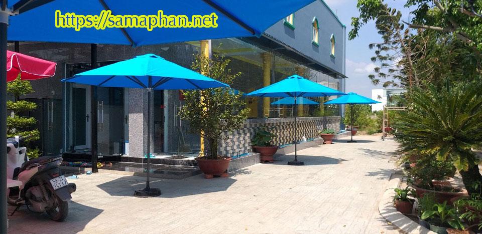 Dù Che Nắng Quán Cafe tại Bình Dương, những ưu điểm vượt trội của xưởng Dù Nguyễn Lê Phát