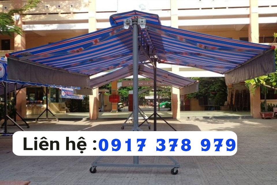 Báo giá mái hiên di động chữ A mới nhất 2021 tại Sài Gòn