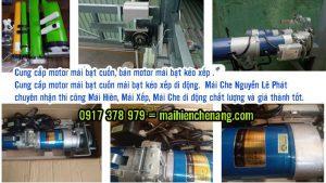 Bảng giá bán Motor ( mô tơ) kéo mái bạt xếp | Motor mái hiên