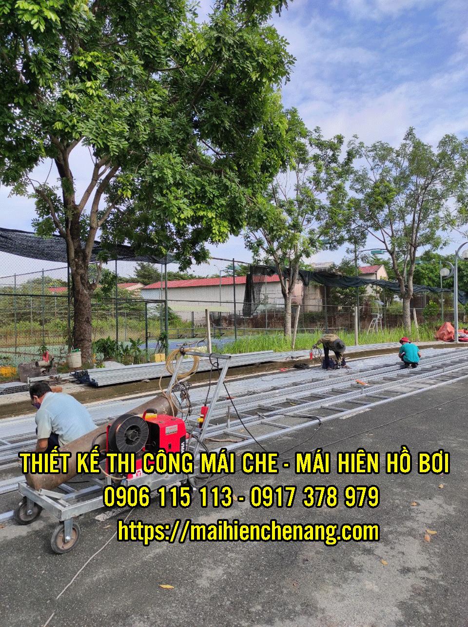 Thợ Lắp Đặt Mái Che Quận 7, Mái Hiên Che Nắng Mưa Hồ Bơi, Quán Cafe, Quán Nhậu Nhà Bè Quận 7 TPHCM