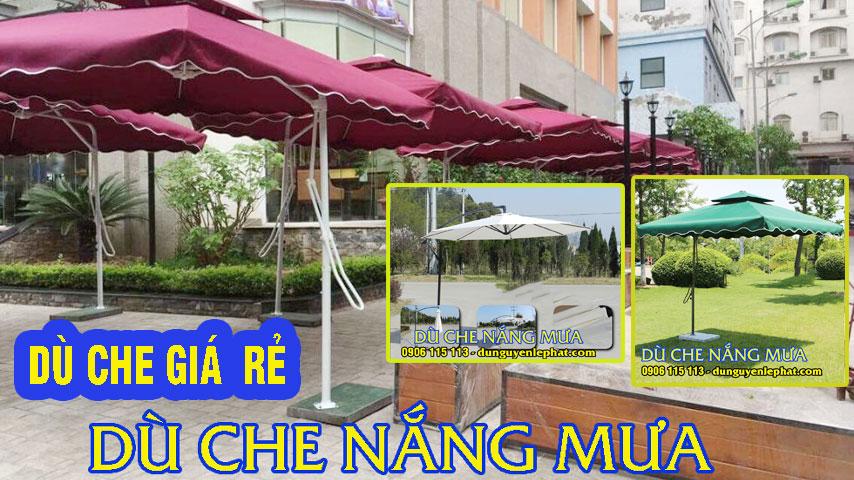 Cơ sở ô dù che nắng mưa quán cafe giá rẻ đẹp 2021