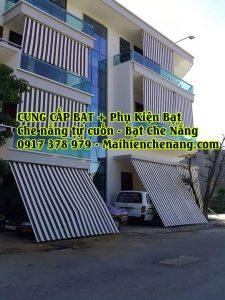 Đại lý sản xuất và bán bạt che nắng mưa tại Hà Nội , Bạt che nắng tự cuốn, giá bạt che nắng tự cuốn tốt nhất tại Hà Nội