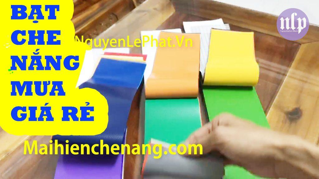 Thay Bạt Che Nắng Mưa Giá Rẻ, Bạt Che Nắng Tự Cuốn - Thi Công Lắp Đặt Bạt Xếp