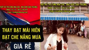 Thay Bạt Mái Hiên, Mái Xếp Che Nắng Quận 7 Giá Rẻ, Bạt Kéo tại Quận 7 Nhà Bè