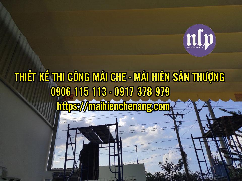 Mái che di động tại Tphcm giá bao nhiêu tiền 1 m2