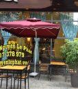 Mẫu dù che nắng quán cafe ý tưởng
