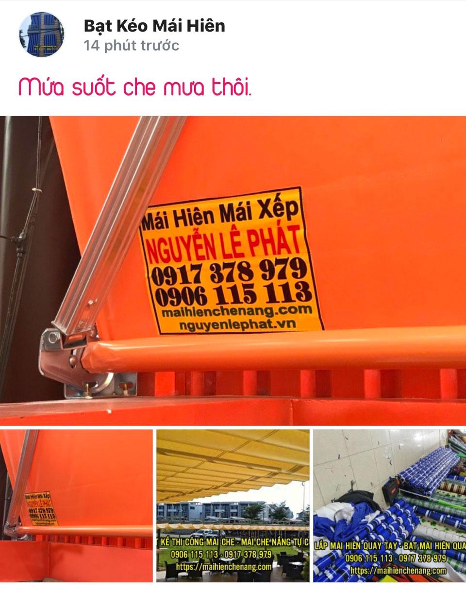 Thay Bạt Mái Hiên, Mái Xếp Che Nắng Quận 7 Giá Rẻ, Bạt Kéo tại Biên Hòa Đồng Nai Long Khánh