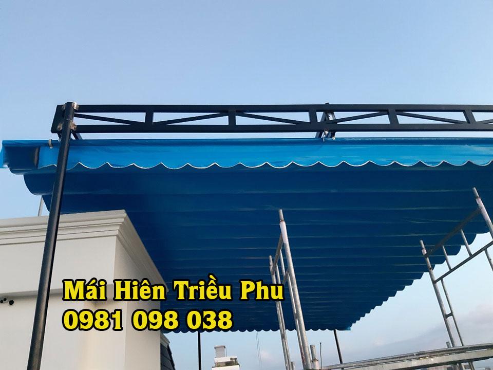 Lắp Đặt Mái Xếp tại Biên Hòa , Báo Giá Thi Công Bạt Xếp tại Đồng Nai