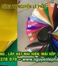Bảng Báo giá bạt che nắng Hàn Quốc, Bạt Korea Myung Sung