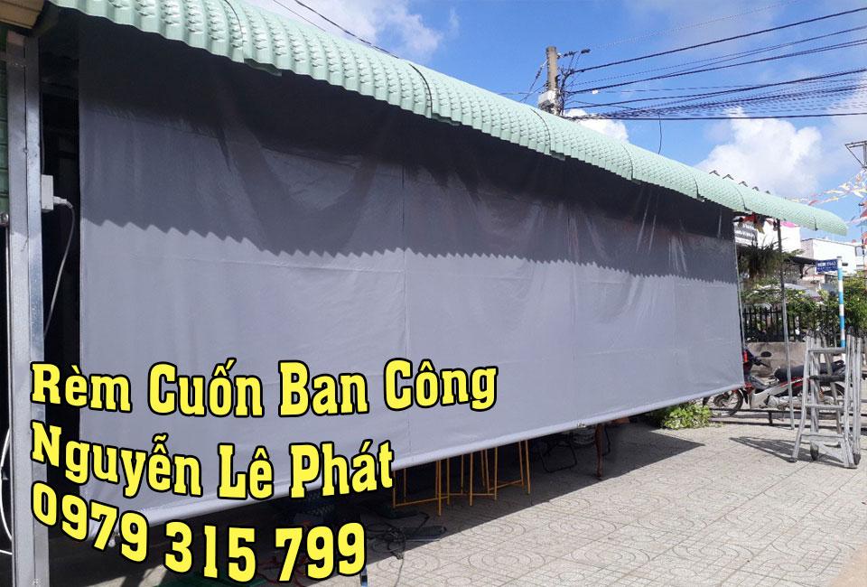 Rèm Che Nắng Mưa Ban Công Chung Cư tại Quận 7 Nhà Bè